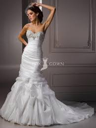 fit flare wedding pinterest organza wedding gowns strapless