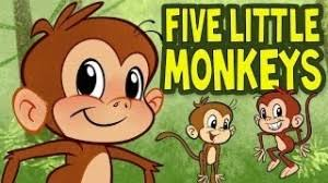 No More Monkeys Jumping On The Bed Song Five Little Monkeys With Lyrics Nursery Rhyme Songs For Children