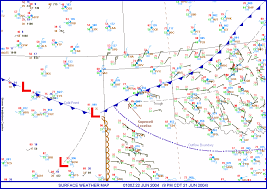 Cold Front Map Amarillo U0027s Solstice Supercell Spc Cool Image