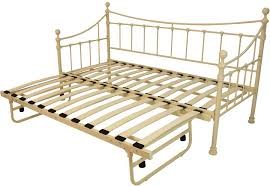 Metal Daybed With Trundle Metal Daybed With Trundle Sleepland Beds