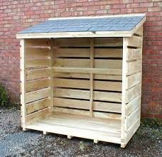 wood store large oak log store 25 year guarantee