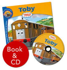 thomas u0026 friends toby book u0026 cd book