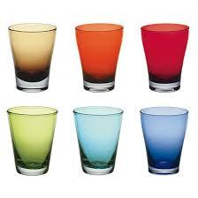 set bicchieri set 6 bicchieri acqua 26cl arlecchino servizi e set di