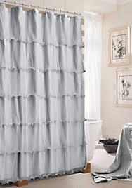 Black Ruffle Shower Curtain Shower Curtains Belk