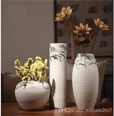 Vase Tall Decorative Ceramic Vases Home Furnishing Decorations Tv Cabinet