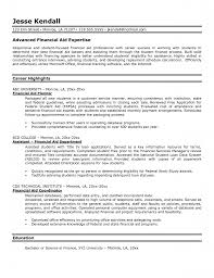 Academic Advisor Resume Examples by Financial Advisor Resume Template Free Resume Example And