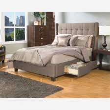 King Platform Bed Frame With Headboard Inspiring California King Platform Bed White Frame Image For And