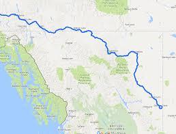 alcan highway map my