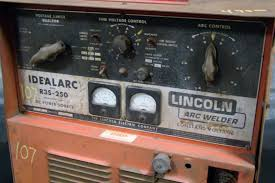 lincoln idealarc mig welder 3 phase r3s 250 dc power source ebay