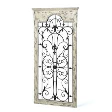 one allium way gate white wood and metal wall décor reviews