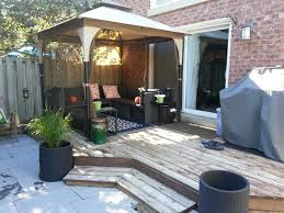 Small Patio Gazebo by Small Gazebo For Patio Ideas The Ideal Design Layout For A Small