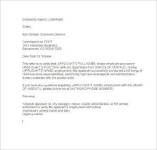 Certification Letter Template Sle Employment Verification Letter Templates Free U0026 Premium