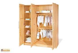 armoire chambre d enfant chambre d enfant en hêtre natura 1 lit 1 commode et 1 armoire