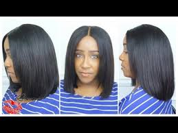 bob hair extensions with closures blunt cut bob install cut style no hair out glam star hair