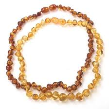 amber beads necklace images Baby amber teething necklaces nova natural toys crafts jpg