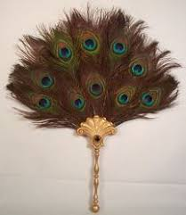 peacock feather fan gipsy or peddler s palace gallery of renaissance clothing