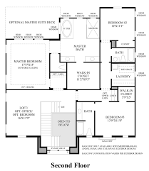 madison at parkside the woodson home design 2nd floor floor plan