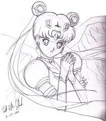 eternal sailor moon sketch by 1hikaru on deviantart