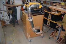 dewalt table saw dust collection dewalt 735 thickness planer dust collection by tyvekboy