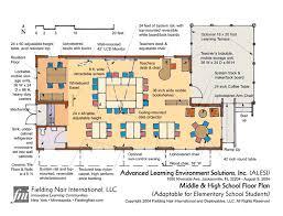 Kindergarten Floor Plan Examples Designshare The L Shaped Classroom