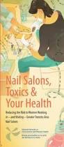 nail salons toxics u0026 your health canadian women u0027s health network