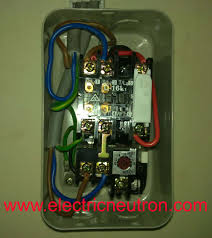 electrical standards direct online dol starter control circuit