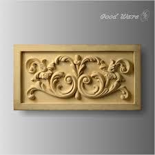 polyurethane faux wood wall plaques ornamental molding the