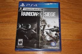 siege free brand factory sealed ps4 tom clancy s rainbow six siege ship