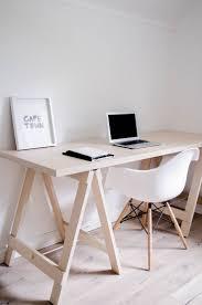 Pinterest Office Desk Best 25 Trestle Desk Ideas On Pinterest Studio Interior