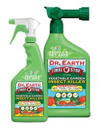 final stop vegetable garden insect killer doctor earth