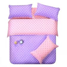 Polka Dot Bed Set Purple Pink Dots Bedding Set Polka Dot Size
