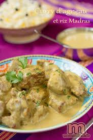 cuisine indienne riz curry d agneau et riz madras recipes agneau le