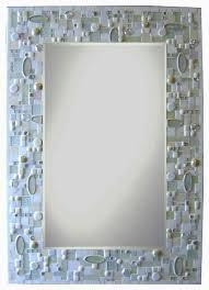 Mosaic Bathroom Mirror Mosaic Bathroom Mirror Home Design Ideas