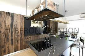 cuisine industrielle inox intérieur de la maison hotte industrielle cuisine vintage alpilles