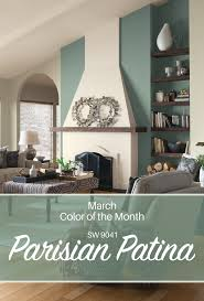 2016 Bestselling Sherwin Williams Paint by Sherwin Williams U0027 March Color Of Of The Month Parisian Patina Sw