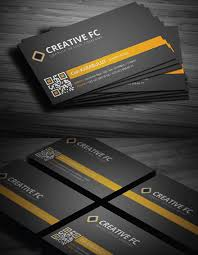 Business Card With Qr Code 27 Inspirational Creative Business Card Designs Printingdeals Org
