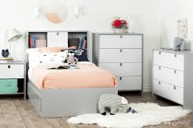 White Twin Bookcase Headboard by South Shore Cookie Twin Bookcase Headboard U0026 Reviews Wayfair