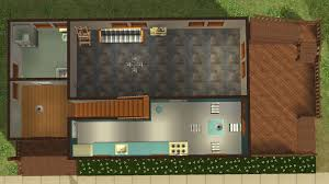 mod the sims house with terrace and balcony in 2 versions