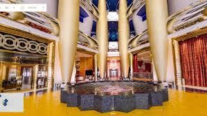 burj al arab inside burj al arab hotel dubai lets google street view inside