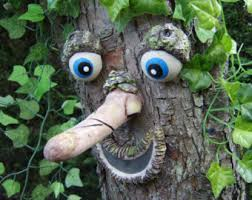 tree face tree faces unique funky and fun great gift by thetreefacepeople