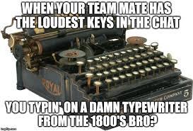 Typewriter Meme - typewriter imgflip