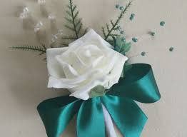 wedding flowers buttonholes teal wedding flowers best of 1 single buttonholes in ivory