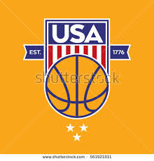 vector crest featuring stars stripes iconic stock vector 561921904