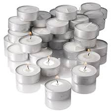 can you use tea light candles without holders amazon com richland unscented tealight candles white set of 125