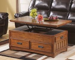 Elegant Oak Coffee Table With Lift Top About Interior Home Design