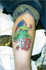boston sox tattoos gallery