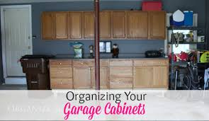 kitchen cabinets in garage organizing garage cabinets organize 365