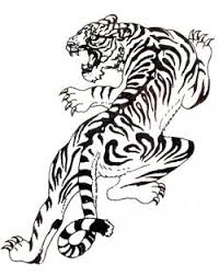 black and white tiger tattoos black white tiger ink 33
