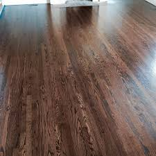 Bona Wax Hardwood Floors Refinished Red Oak With Antique Brown Stain And Finished With Bona