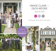 Shabby Chic Purple by Shabby Chic Purple Wedding Zach Nikkie The Pink Bride